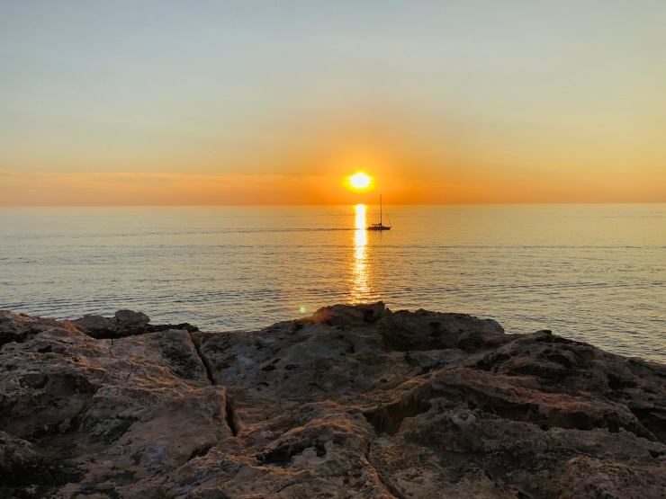Atardecer Punta Rasa (Formentera)