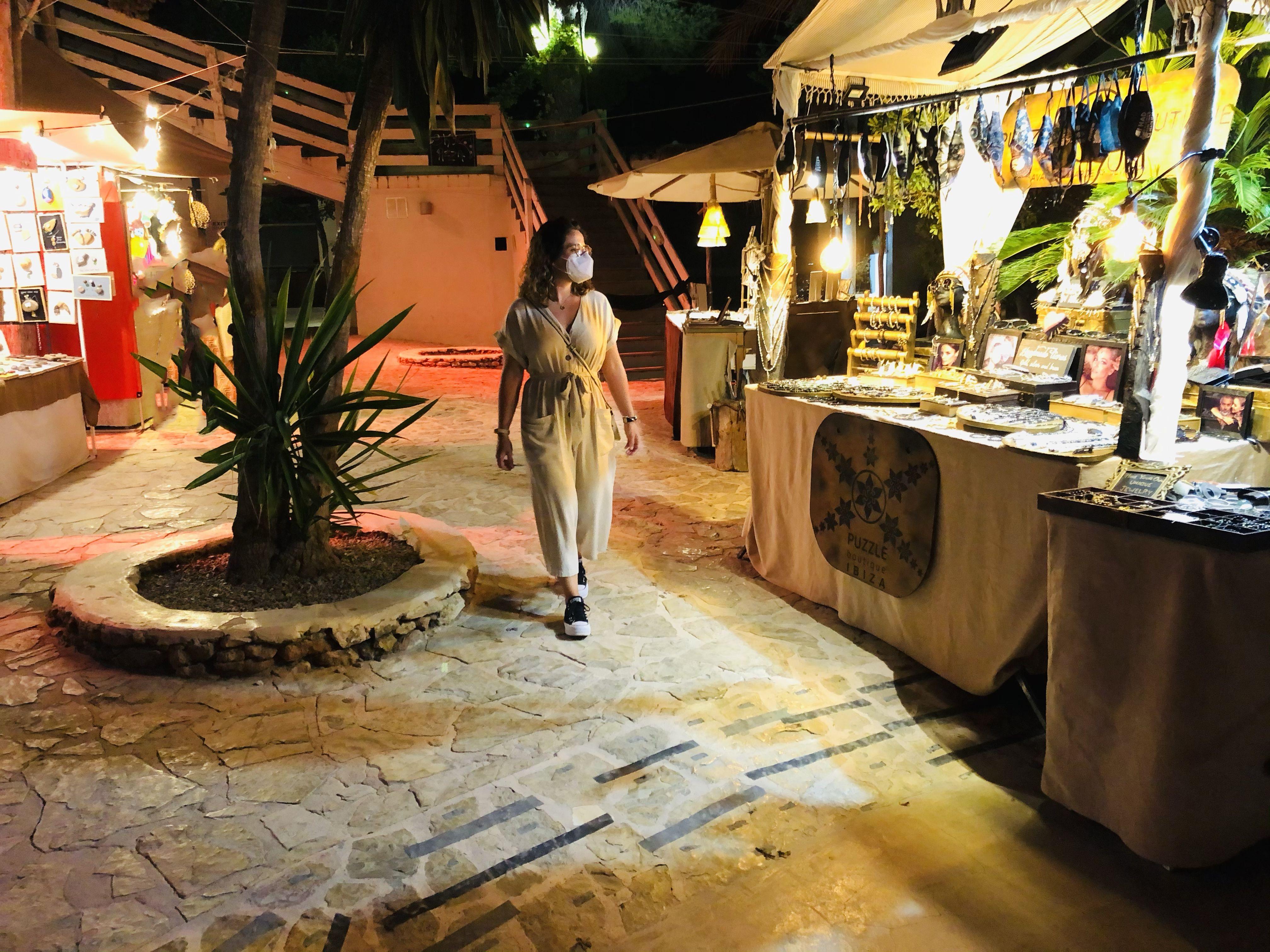 Mercadillo Las Dalias de Ibiza