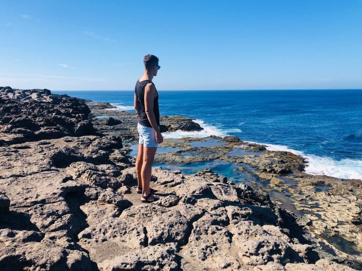 Piscinas Naturales de Los Charcones (Lanzarote)